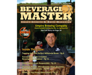 Beverage Master Magazine cover