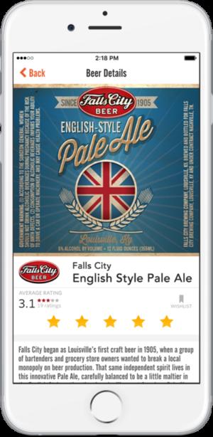 Screenshot of Beer Rating